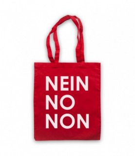 Radiohead Nein No Non As Worn By Thom Yorke Tote Bag Tote Bags