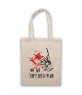 A Nightmare On Elm Street Freddy's Glove Coming For You Tote Bag Tote Bags