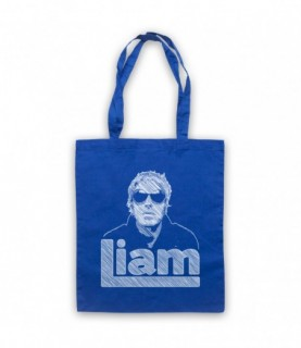 Oasis Liam Gallagher Scribbled Sketch Tote Bag Tote Bags