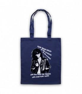 Patti Smith Land Horses Tote Bag Tote Bags