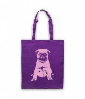 Pug Dog Cute Puppy Tote Bag Tote Bags