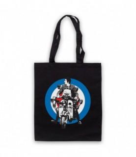 Quadrophenia Jimmy Mod Logo Tote Bag Tote Bags