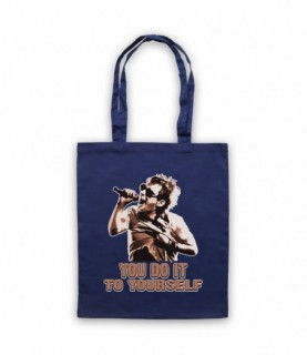 Radiohead Thom Yorke Just You Do It To Yourself Tote Bag Tote Bags