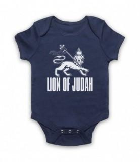 Lion Of Judah Israelite Tribe Jewish Rastafari Symbol Baby Grow Baby Grows