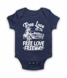 Office Free Love On The Free Love Freeway Baby Grow Baby Grows