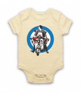 Quadrophenia Jimmy Mod Logo Baby Grow Baby Grows