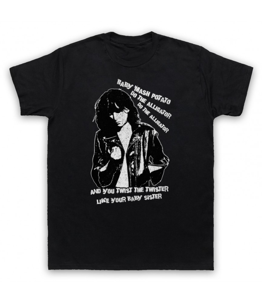 Patti Smith Land Horses Mens Black T-Shirt