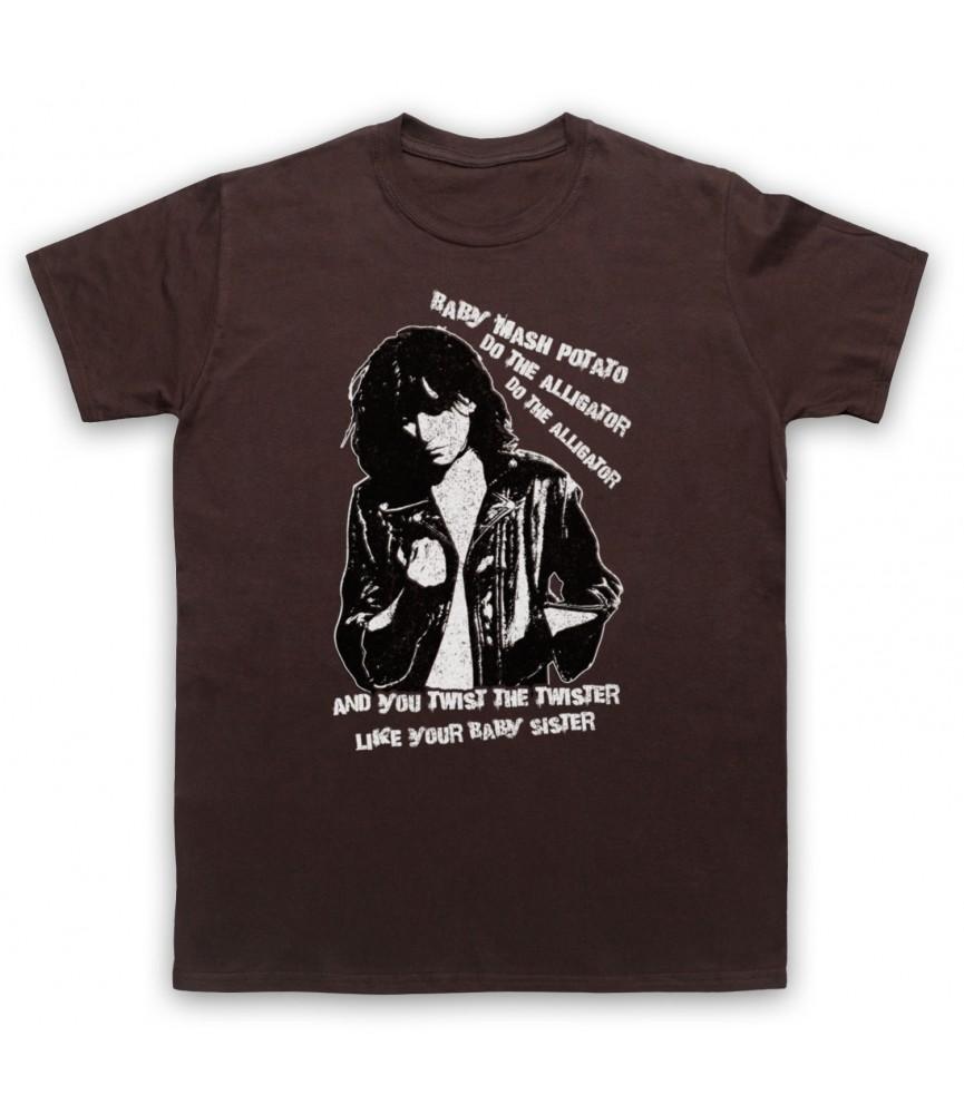 Patti Smith Land Horses Mens Brown T-Shirt