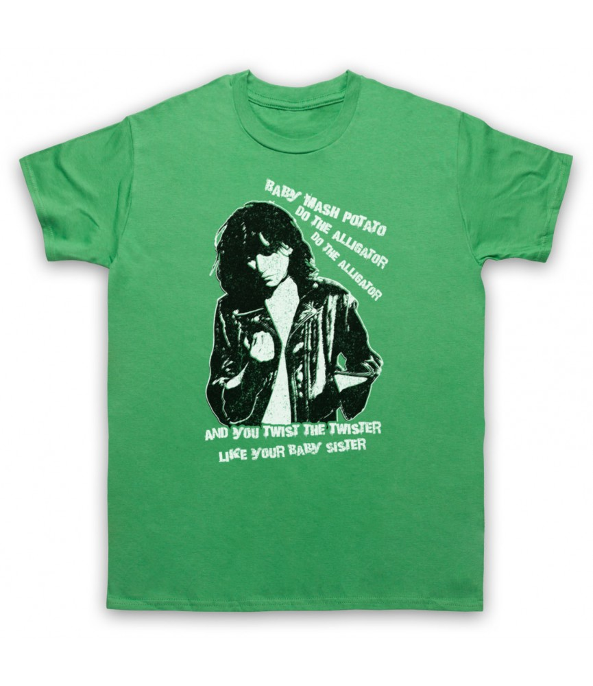 Patti Smith Land Horses Mens Green T-Shirt