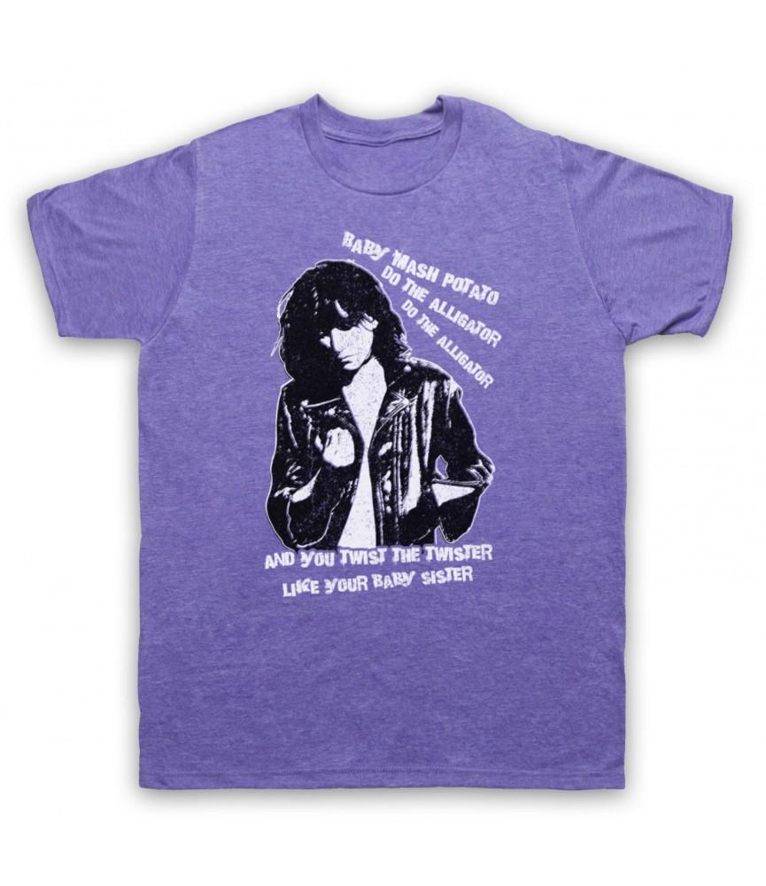 Patti Smith Land Horses Mens Heather Purple T-Shirt
