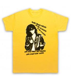 Patti Smith Land Horses Mens Yellow T-Shirt