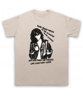 Patti Smith Land Horses Mens Sand T-Shirt