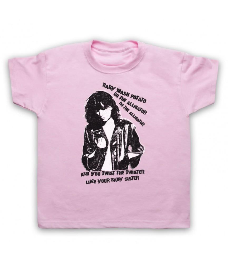 Patti Smith Land Horses Kids Light Pink T-Shirt