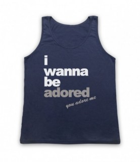 Stone Roses I Wanna Be Adored Tank Top Vest Tank Top Vests