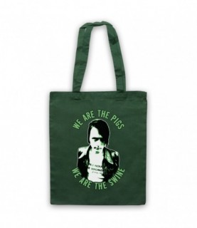 Suede We Are The Pigs Tote Bag Tote Bags