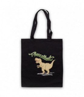 T-Rexcellent T-Rex Dinosaur Lover Tote Bag Tote Bags