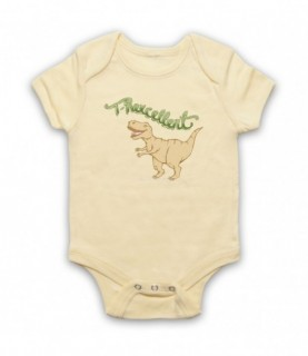 T-Rexcellent T-Rex Dinosaur Lover Baby Grow Baby Grows