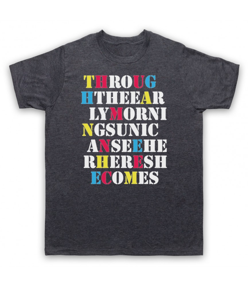 Stone Roses She Bangs The Drums Mens Heather Slate T-Shirt