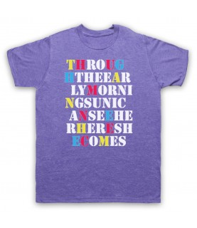 Stone Roses She Bangs The Drums Mens Heather Purple T-Shirt