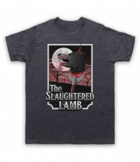 An American Werewolf In London The Slaughtered Lamb Pub T-Shirt T-Shirts