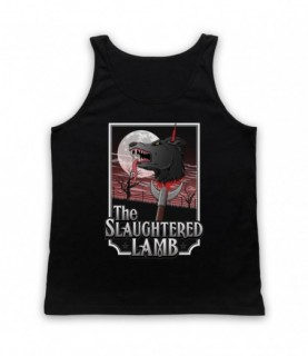 An American Werewolf In London The Slaughtered Lamb Pub Tank Top Vest Tank Top Vests