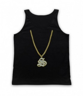 Angry Boys S Mouse Chain Tank Top Vest Tank Top Vests