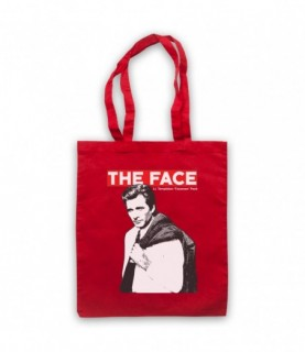 A-Team Face LT Templeton Faceman Peck Tote Bag Tote Bags