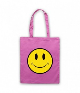 Acid House Smiley Face Tote Bag Tote Bags