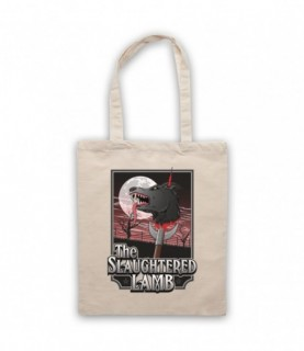 An American Werewolf In London The Slaughtered Lamb Pub Tote Bag Tote Bags