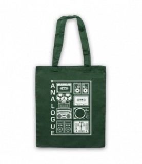 Analogue Audio Recording Equipment Tote Bag Tote Bags
