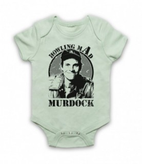 A-Team Howling Mad Murdock Baby Grow Baby Grows