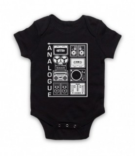 Analogue Audio Recording Equipment Baby Grow Baby Grows