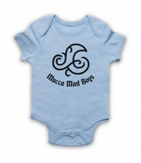 Angry Boys Mucca Mad Boys Tattoo Baby Grow Baby Grows