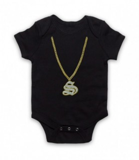Angry Boys S Mouse Chain Baby Grow Baby Grows