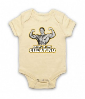 Arnold Schwarzenegger Eating Is Not Cheating Baby Grow Baby Grows