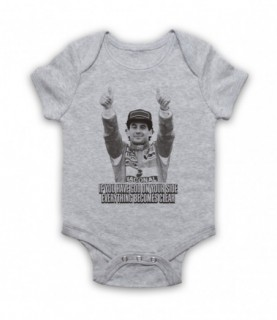 Ayrton Senna Have God On Your Side Everything Becomes Clear Baby Grow Baby Grows