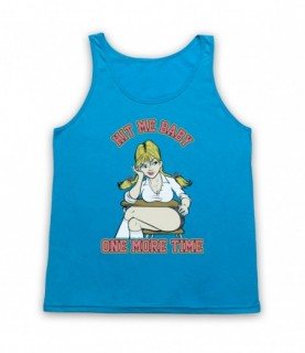 Britney Spears Hit Me Baby One More Time Tank Top Vest Tank Top Vests
