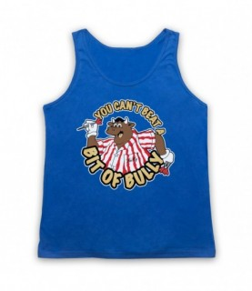 Bullseye You Can't Beat A Bit Of Bully Tank Top Vest Tank Top Vests
