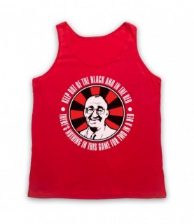 Bullseye Jim Bowen Keep Out Of The Black And In The Red Tank Top Vest Tank Top Vests