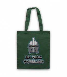 Battlestar Galactica Cylon By Your Command Tote Bag Tote Bags