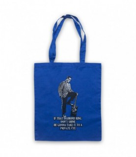 Bo Diddley Bought His Babe A Diamond Ring Tote Bag Tote Bags