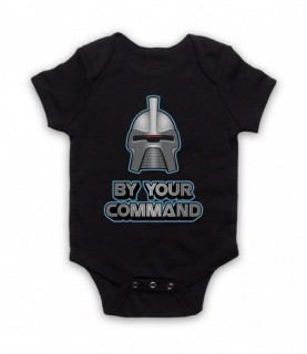 Battlestar Galactica Cylon By Your Command Baby Grow Baby Grows