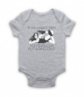Beyonce Single Ladies Put A Ring On It Baby Grow Baby Grows