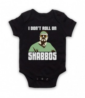 Big Lebowski I Don't Roll On Shabbos Baby Grow Baby Grows