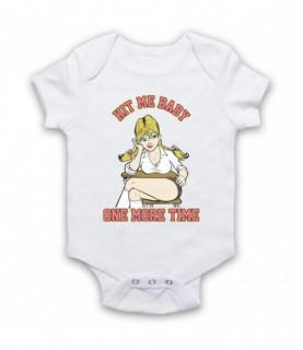 Britney Spears Hit Me Baby One More Time Baby Grow Baby Grows