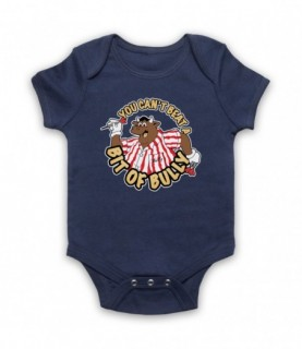 Bullseye You Can't Beat A Bit Of Bully Baby Grow Baby Grows