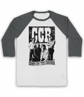 Creedence Clearwater Revival CCR Down On The Corner Baseball Tee Baseball Tees