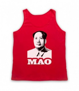 Chairman Mao Chinese Dictator Tank Top Vest Tank Top Vests