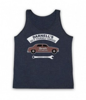 Christine Darnell's Auto Wrecking Tank Top Vest Tank Top Vests