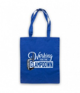 Clash Working For The Clampdown Tote Bag Tote Bags